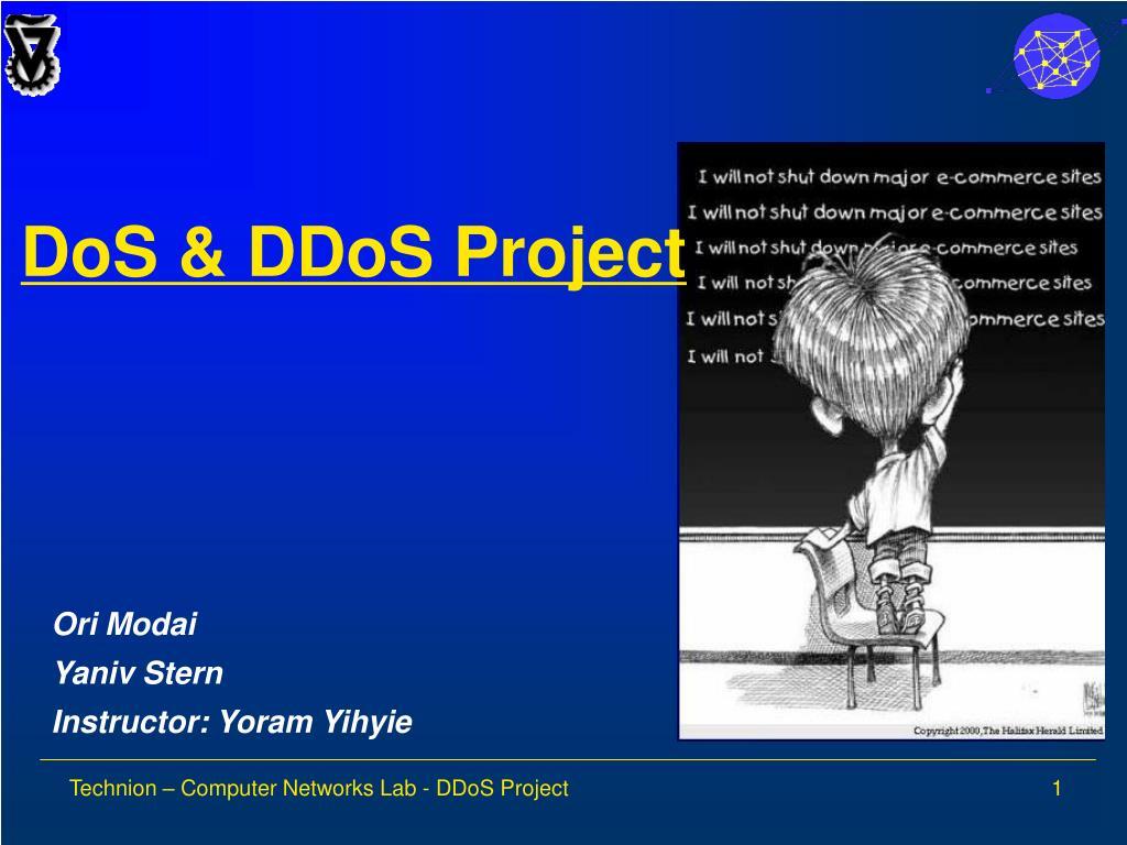 DoS & DDoS Project