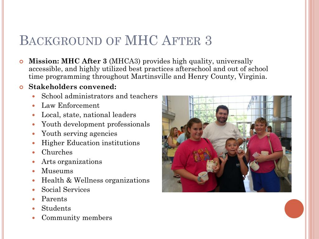 Background of MHC After 3