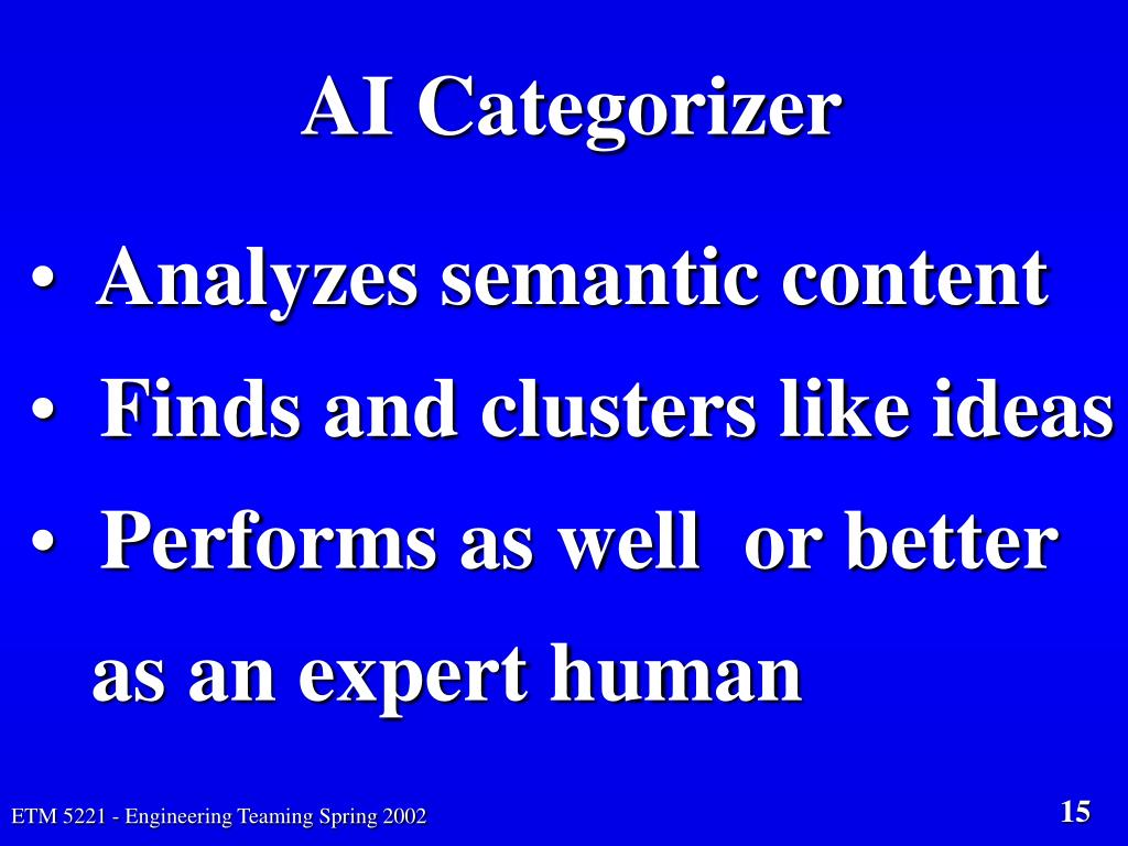AI Categorizer