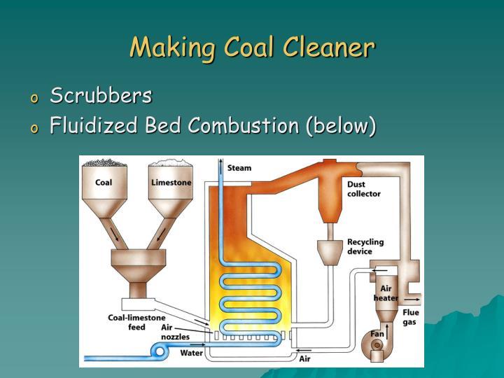 Making Coal Cleaner