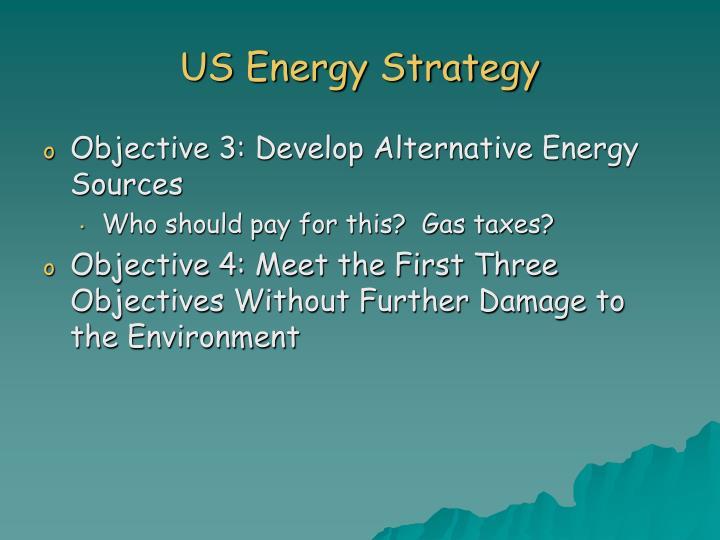 US Energy Strategy