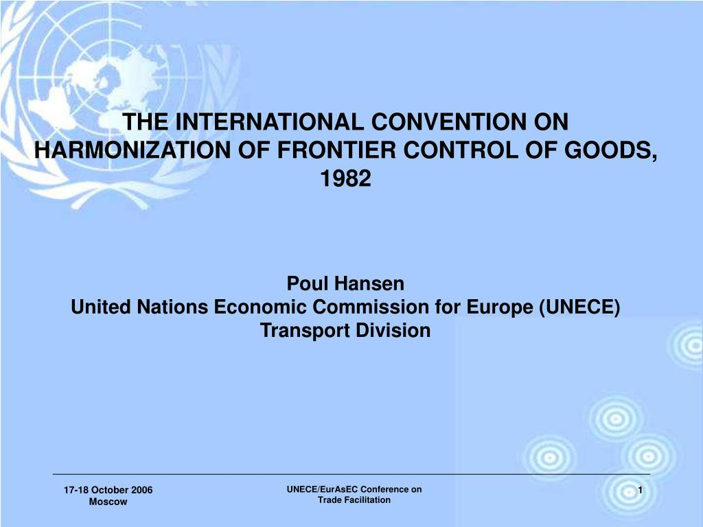 THE INTERNATIONAL CONVENTION ON