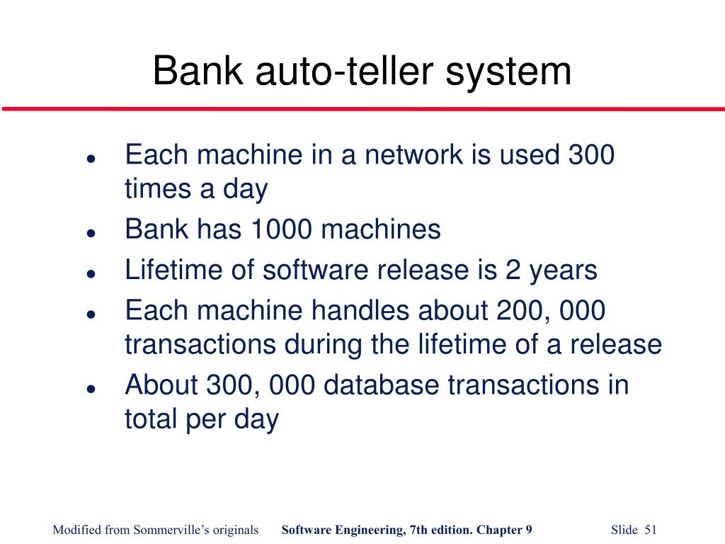Bank auto-teller system