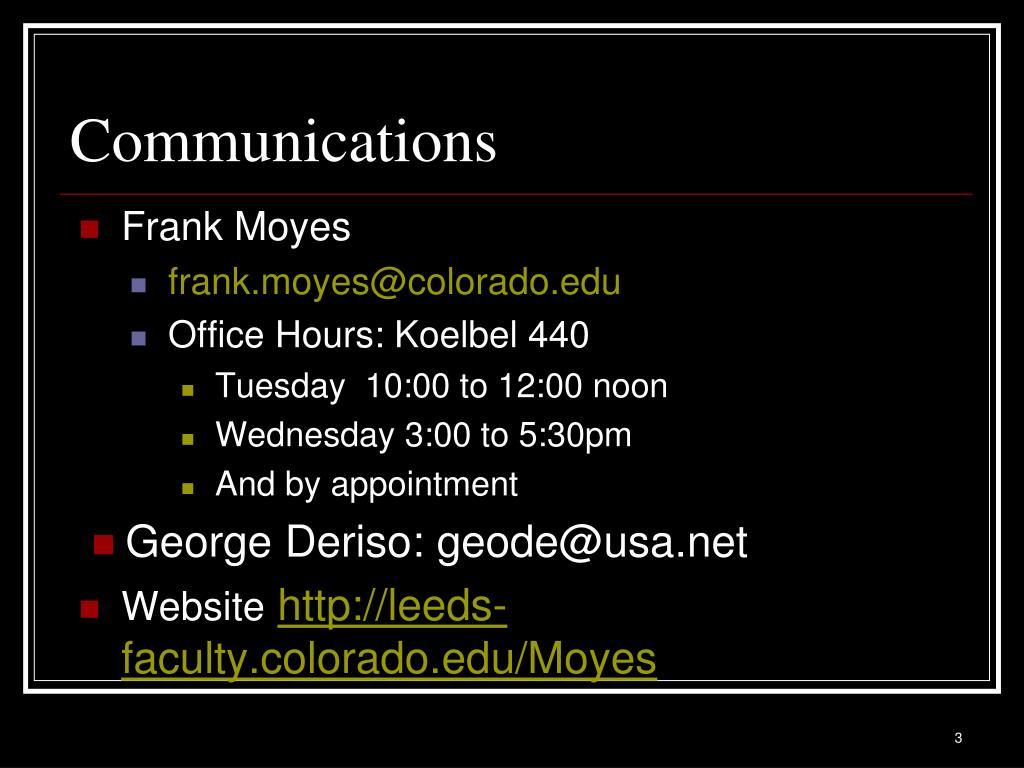 Frank Moyes