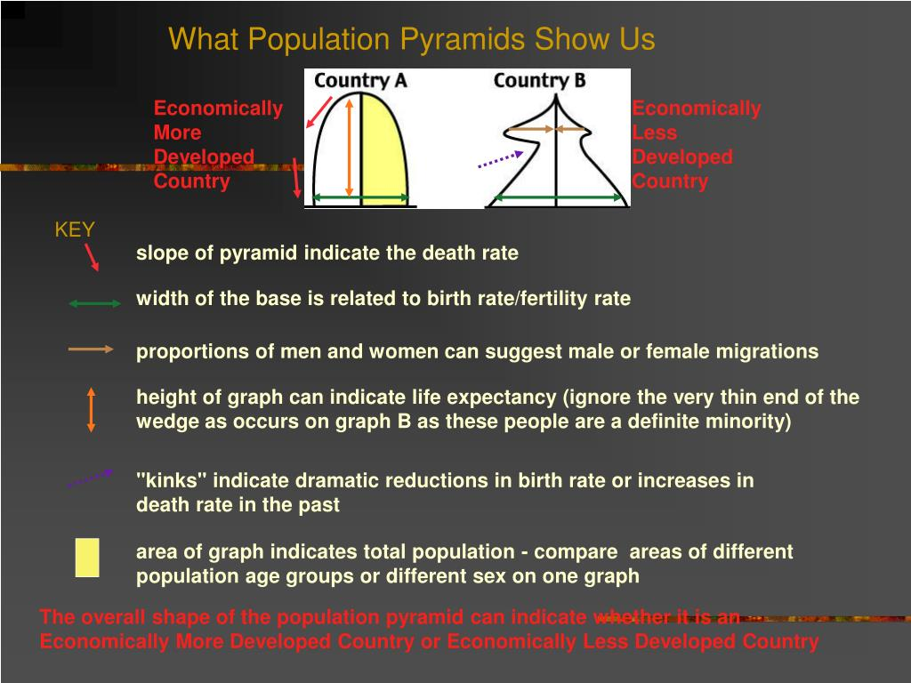 What Population Pyramids Show Us