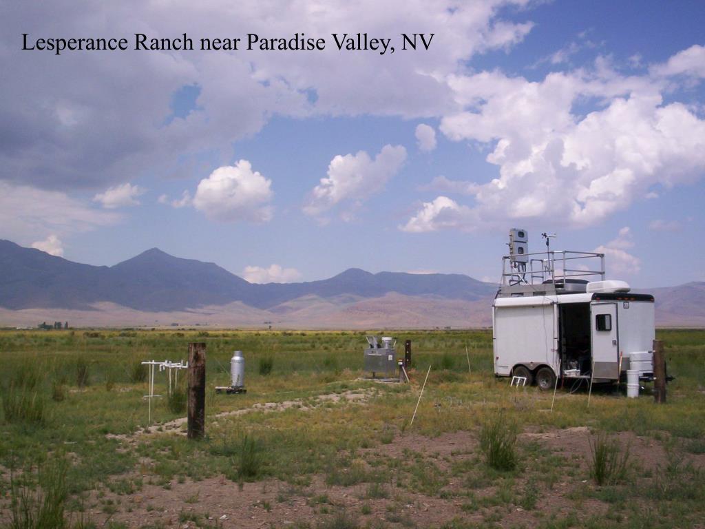 Lesperance Ranch near Paradise Valley, NV