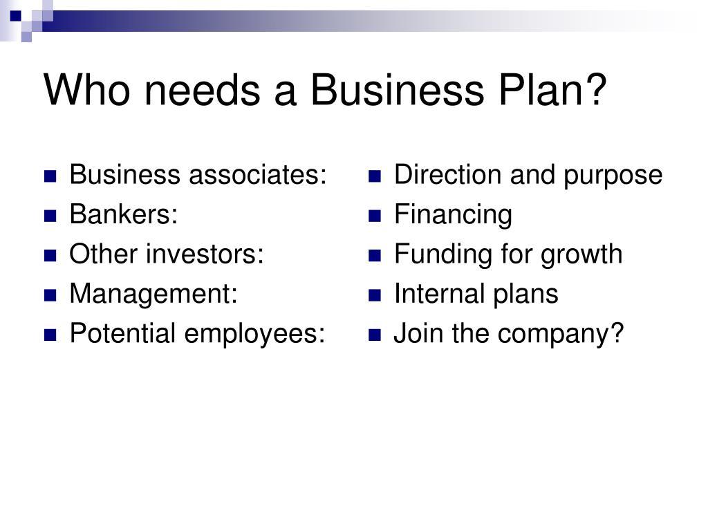 Business associates: