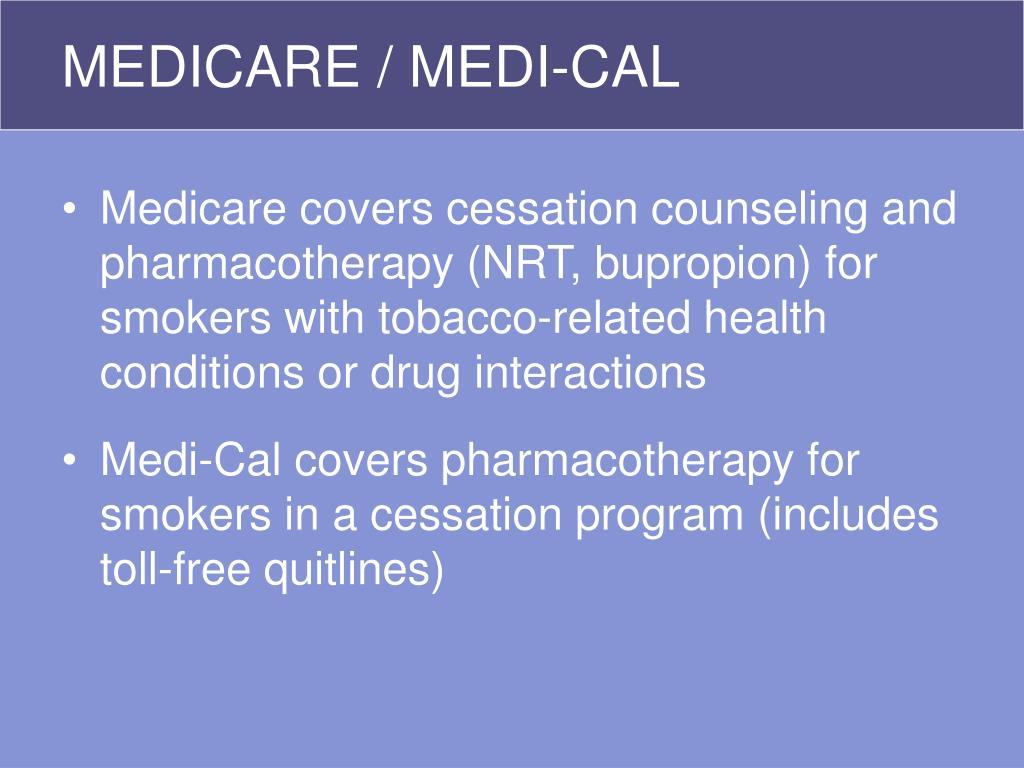 MEDICARE / MEDI-CAL