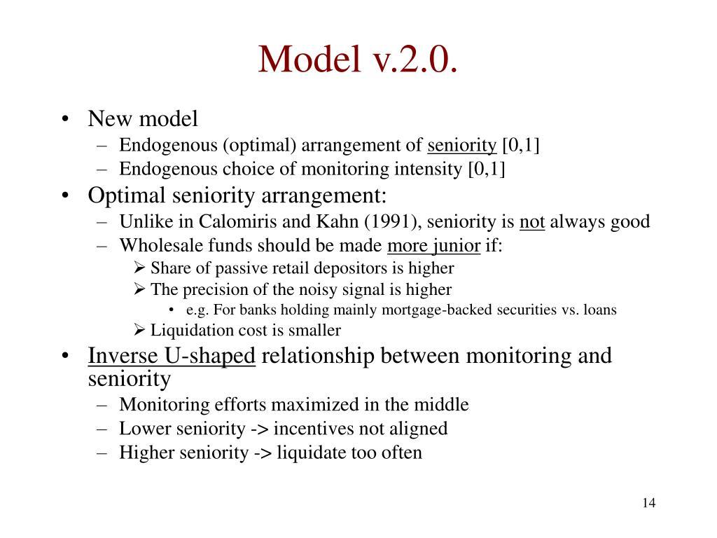 Model v.2.0.