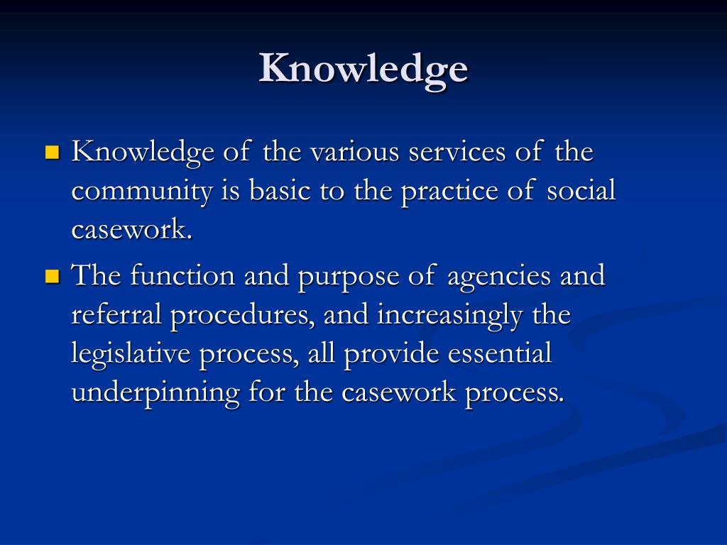 social case work Social work in which the worker investigates a case of personal or family difficulty and gives advice and guidance.