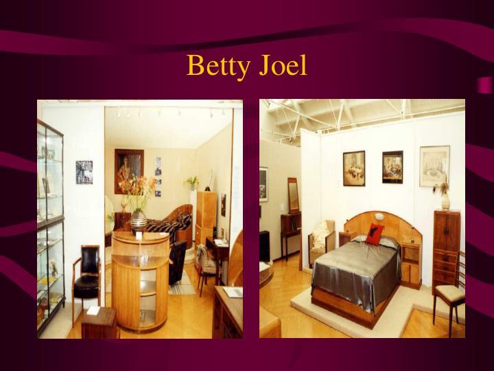 Betty Joel
