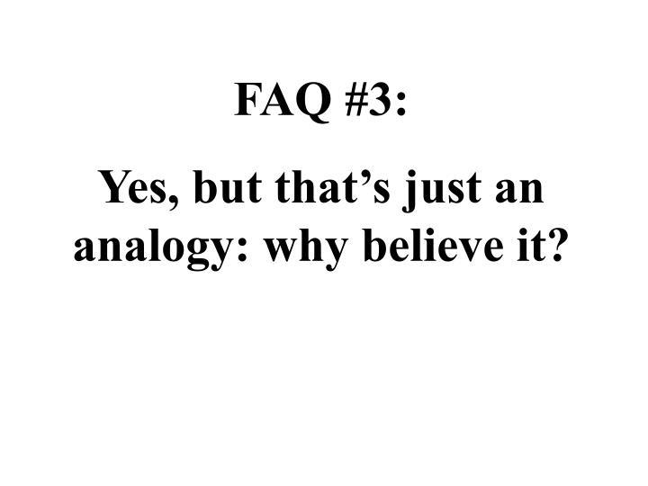 FAQ #3: