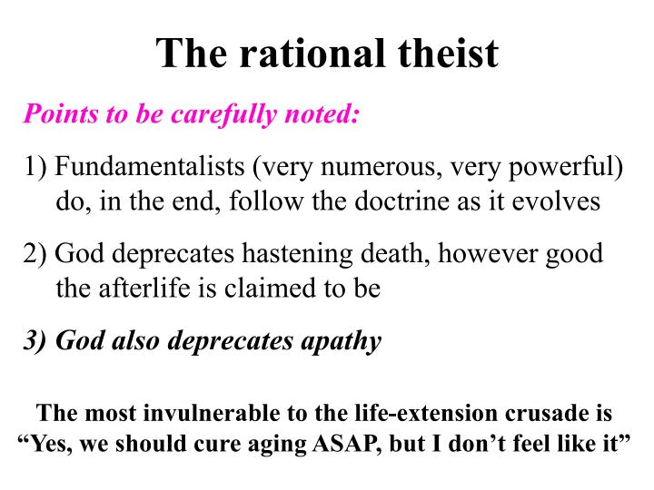 The rational theist