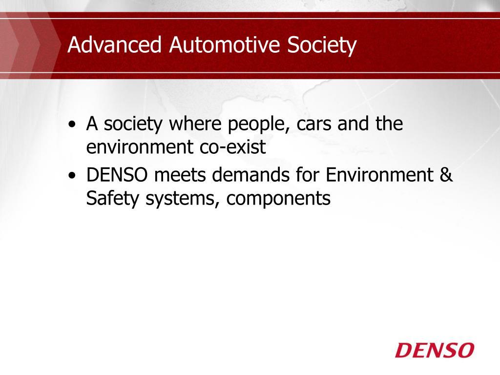 Advanced Automotive Society