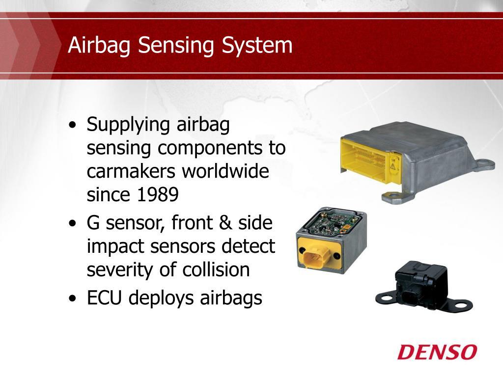 Airbag Sensing System