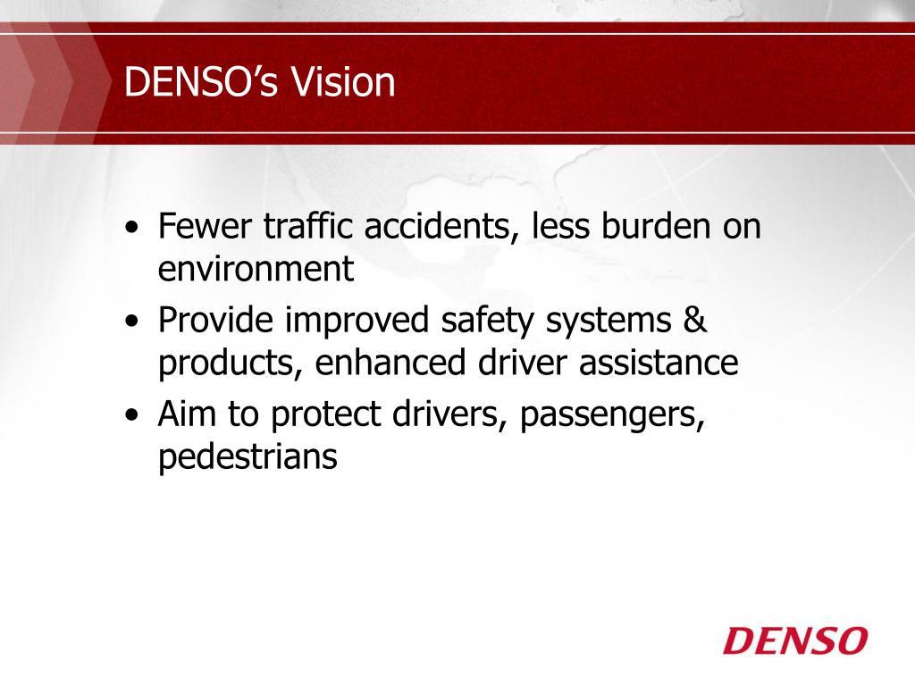 DENSO's Vision