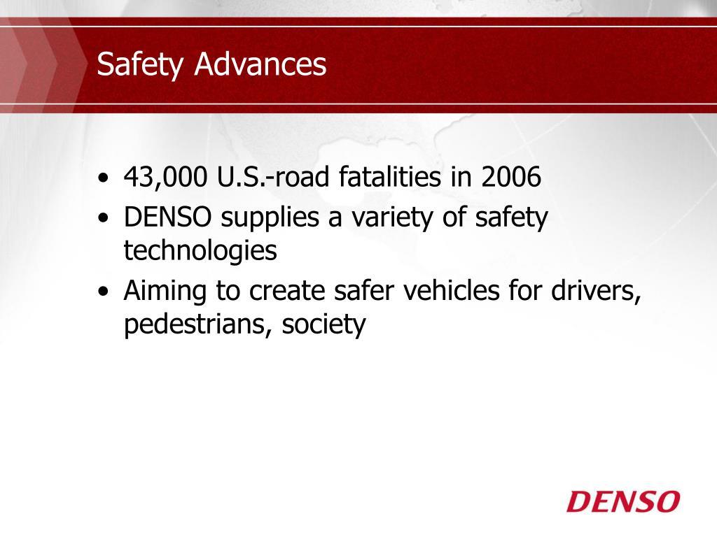 Safety Advances