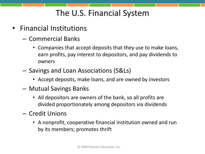 The U.S. Financial System