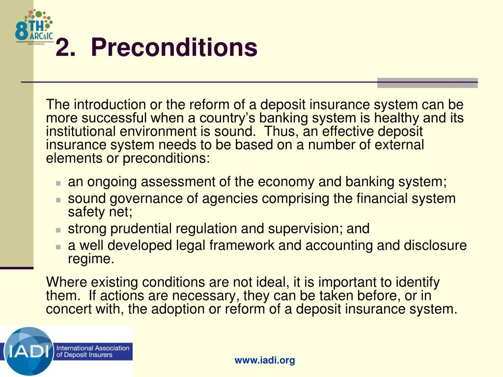 2.  Preconditions