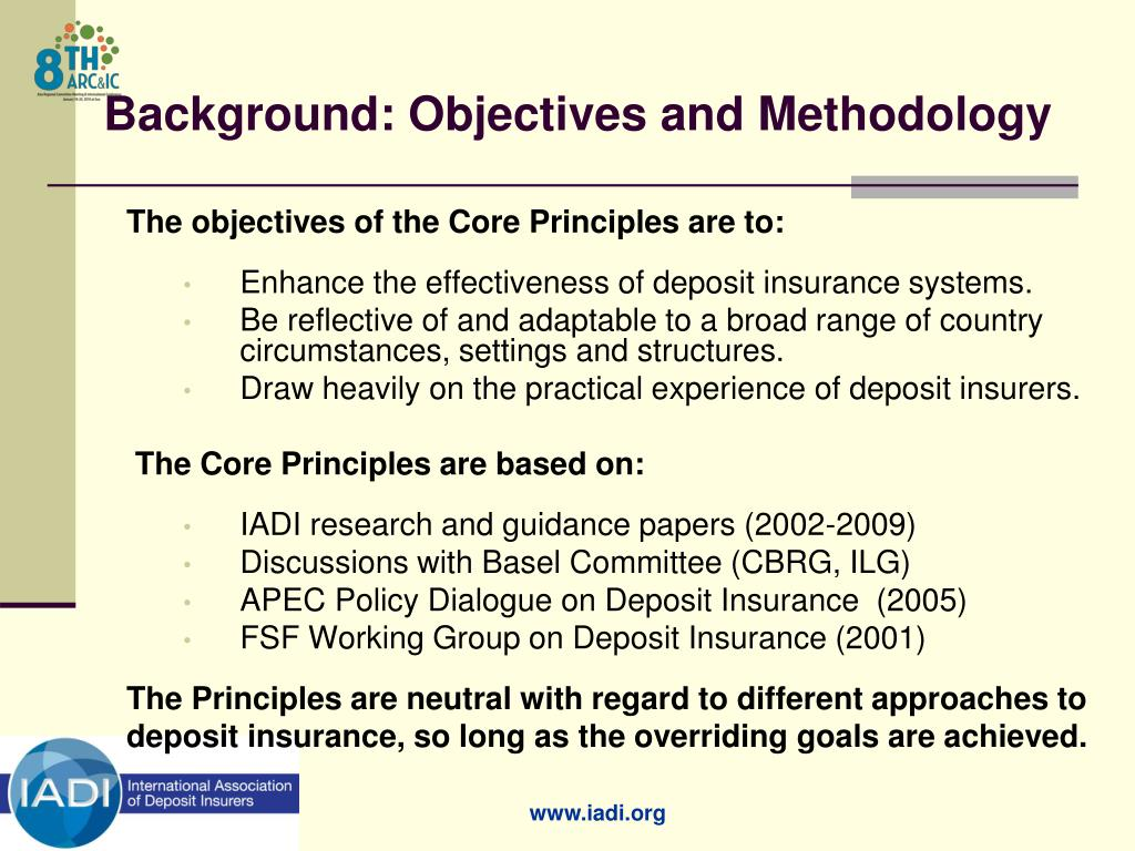Background: Objectives and Methodology