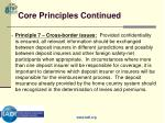 core principles continued11