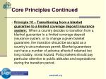 core principles continued13