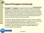 core principles continued14