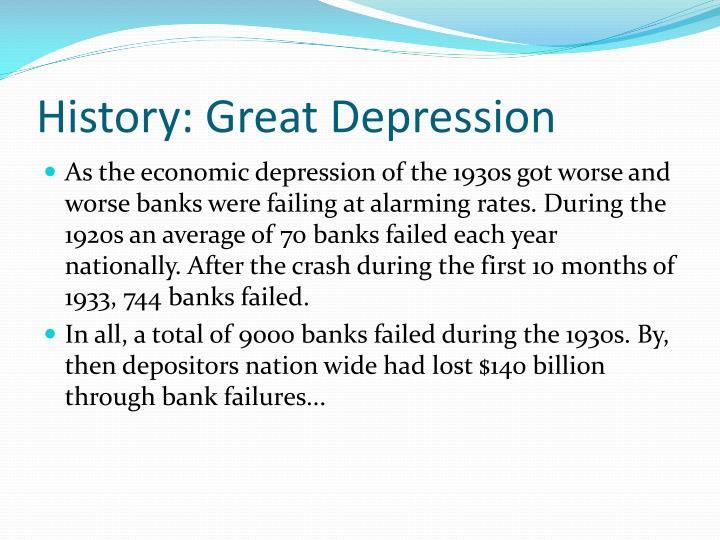 History: Great Depression