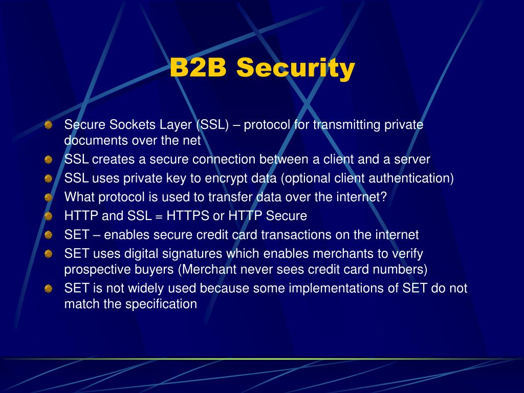 B2B Security