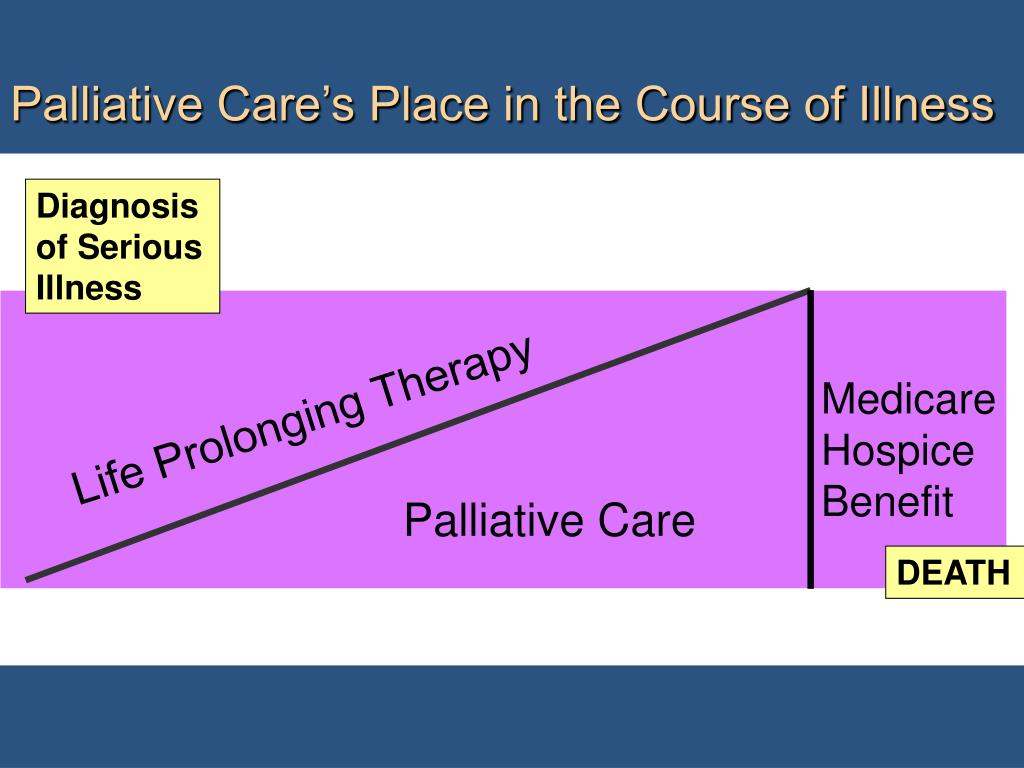 Palliative Care's Place in the Course of Illness