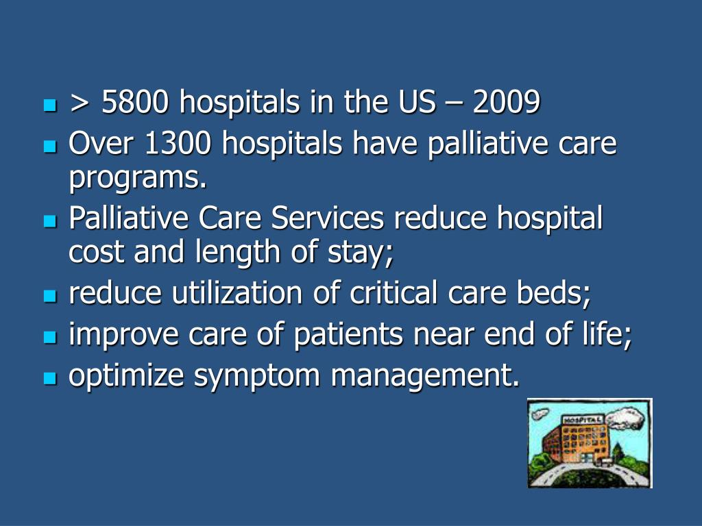 > 5800 hospitals in the US – 2009