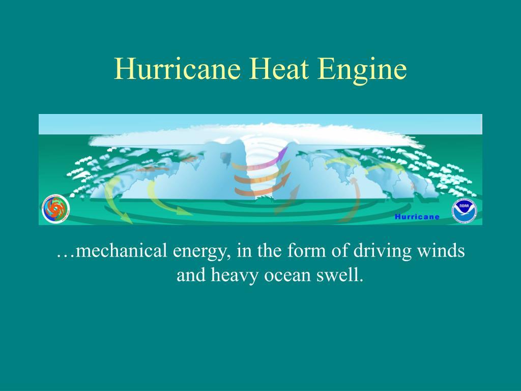 Hurricane Heat Engine