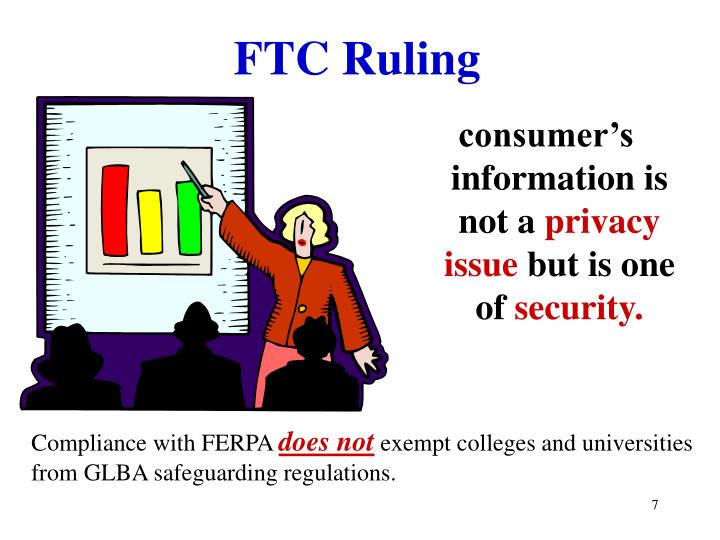 FTC Ruling