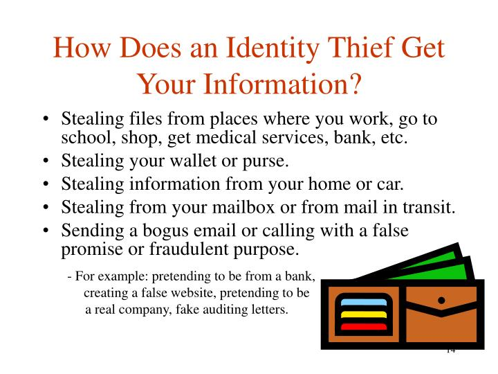 How Does an Identity Thief Get Your Information?