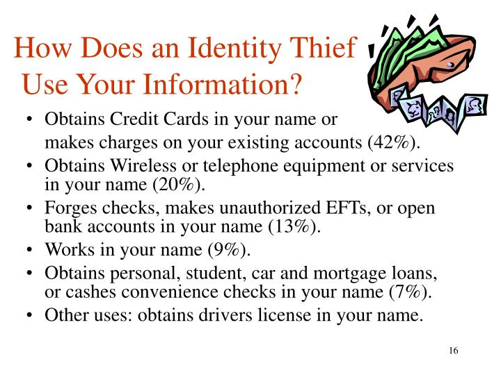 How Does an Identity Thief