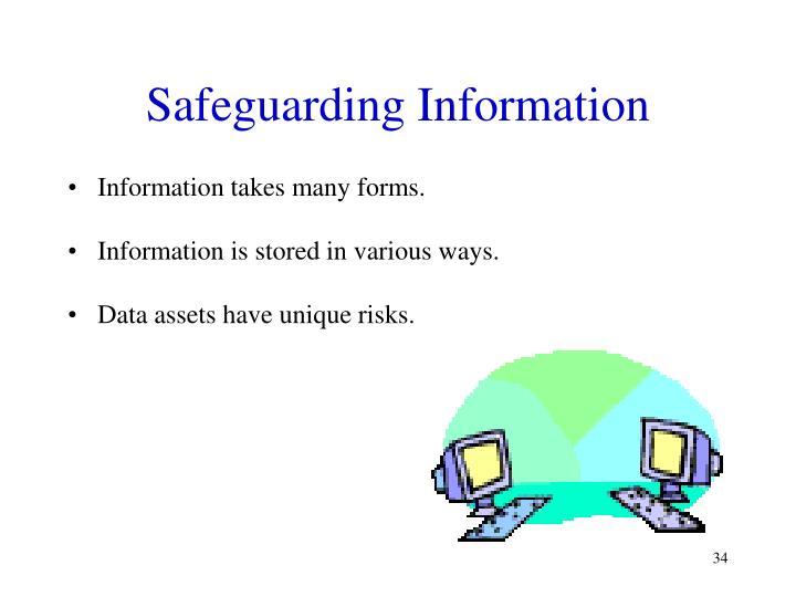 Safeguarding Information