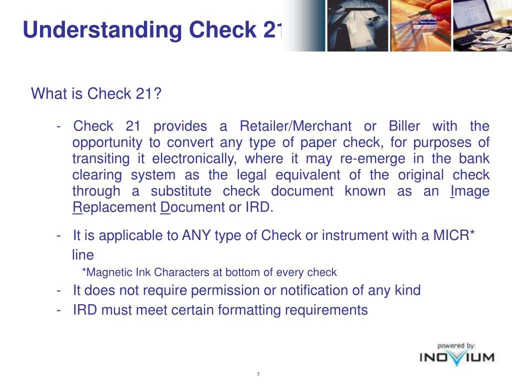 Understanding Check 21