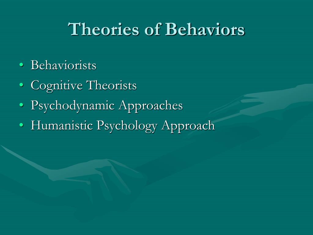 Theories of Behaviors