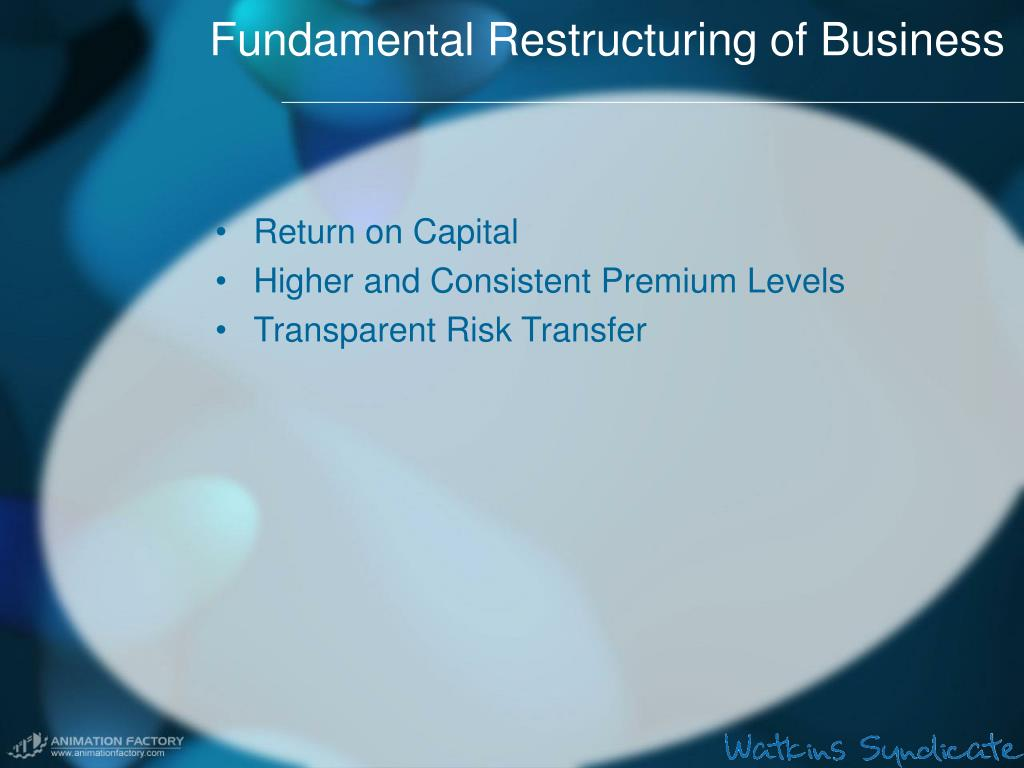 Fundamental Restructuring of Business