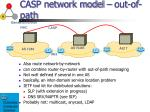 casp network model out of path