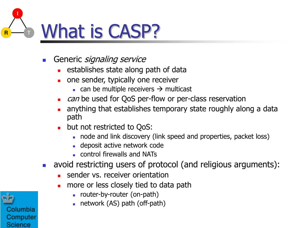 What is CASP?