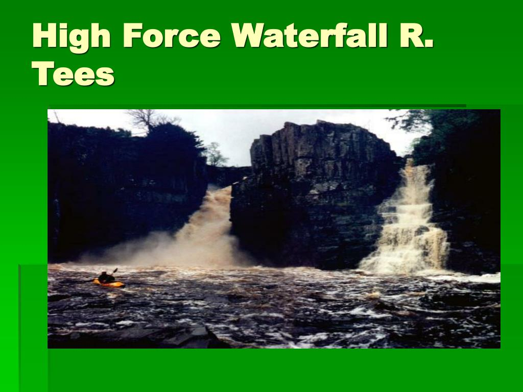 High Force Waterfall R. Tees