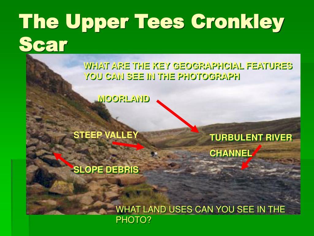 The Upper Tees Cronkley Scar