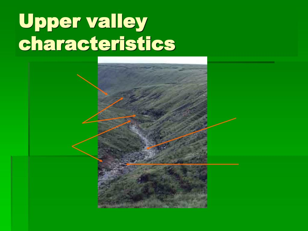 Upper valley characteristics
