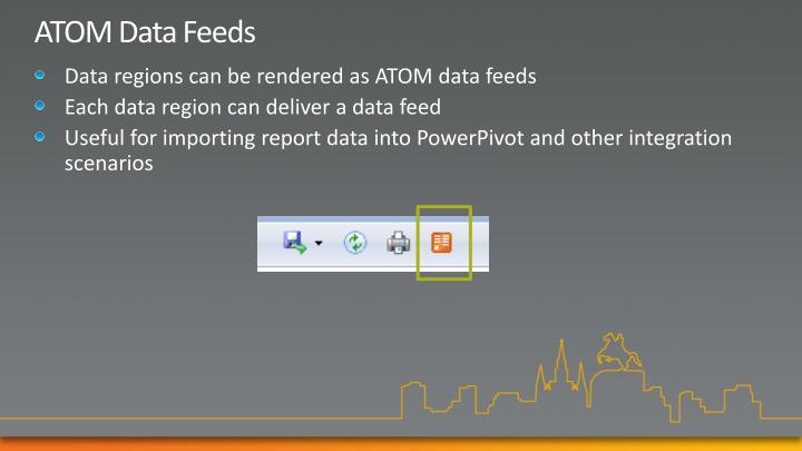 ATOM Data Feeds