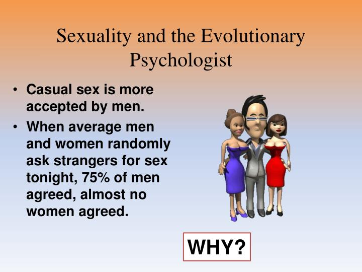 Sexuality and the Evolutionary Psychologist