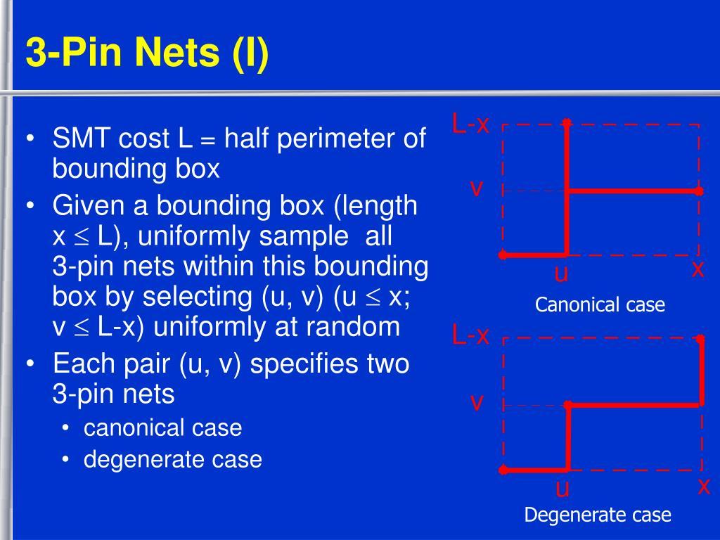 3-Pin Nets (I)