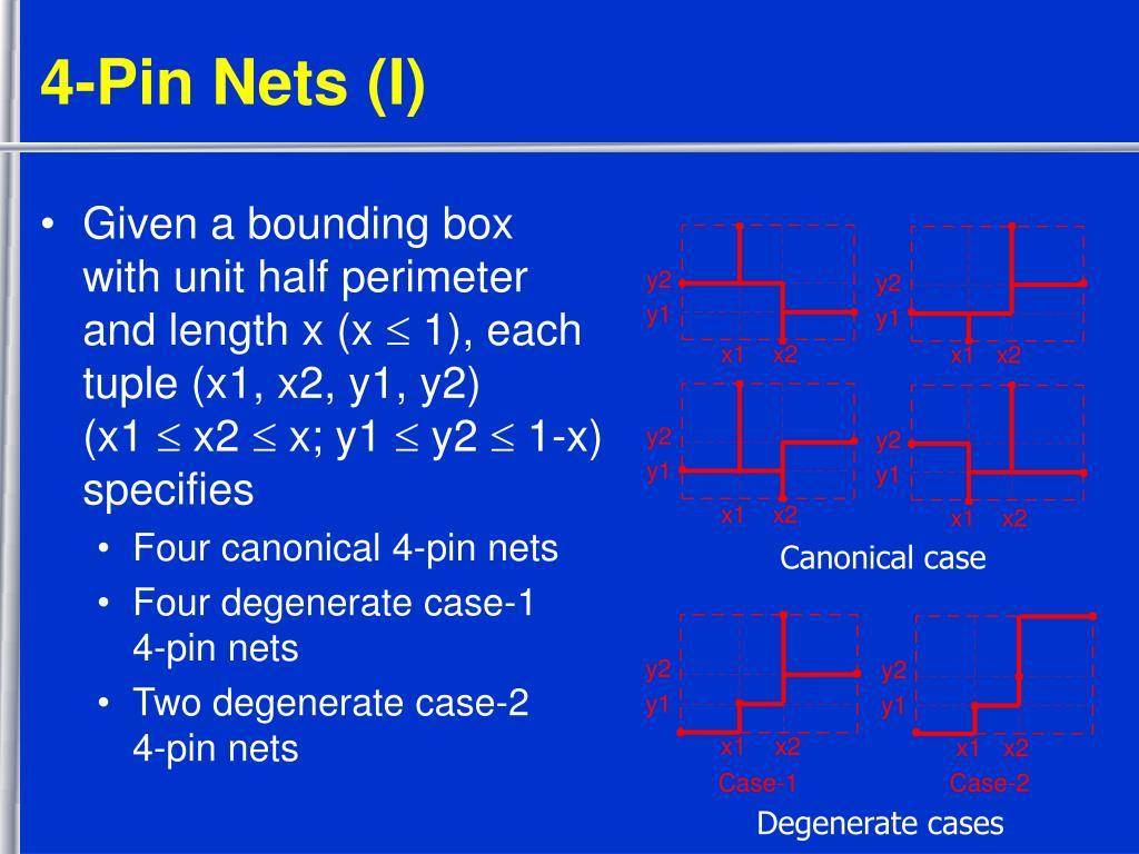 4-Pin Nets (I)