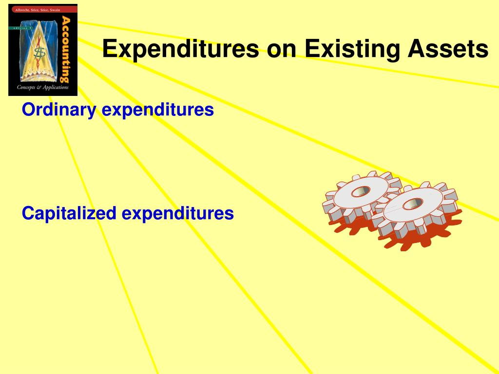Expenditures on Existing Assets