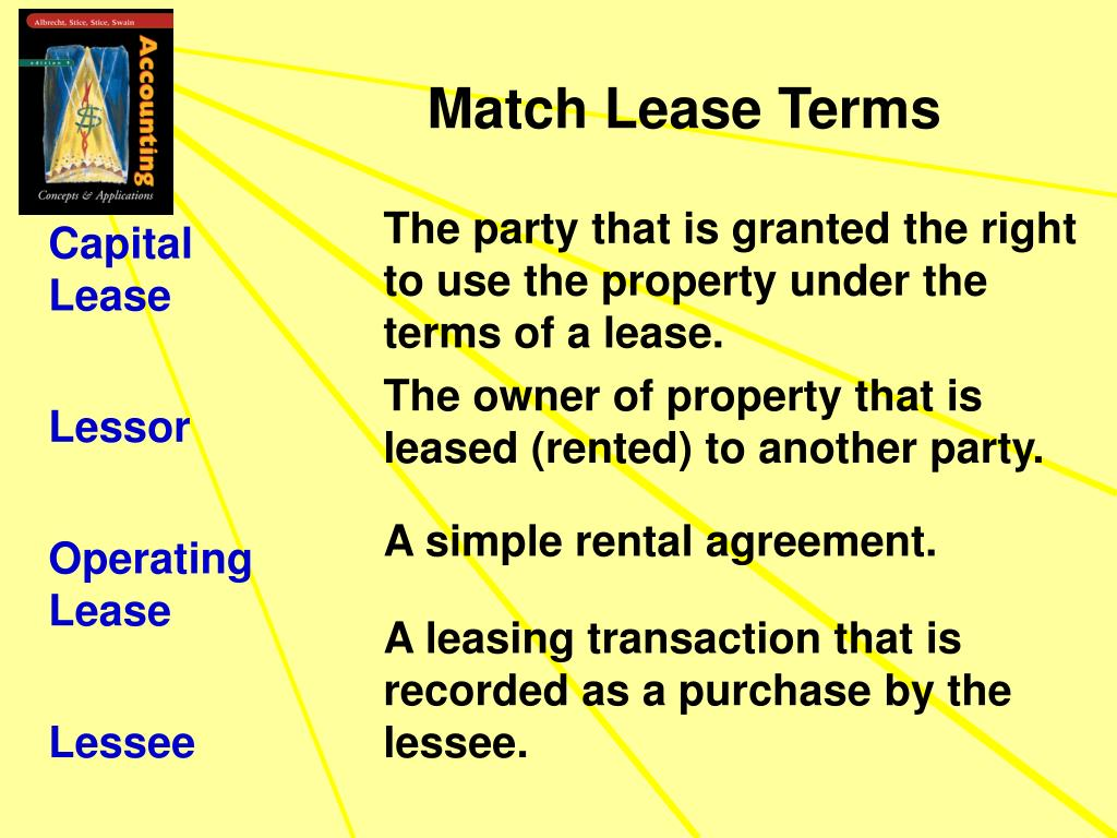 Match Lease Terms